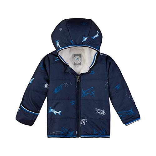 Sanetta Baby-Jungen Outdoorjacket Jacke, Blau (Evening Blue 5683.0), 80