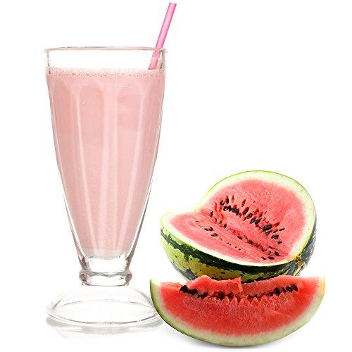 Wassermelone Molkepulver 1 Kg Luxofit mit L-Carnitin Protein angereichert Aspartamfreier Wellnessdrink