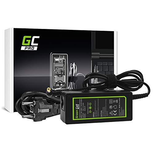 GC PRO Netzteil für eMachines G520 G525 G620 G625 G627 G630 G640 G720 G725 Laptop Ladegerät inkl. Stromkabel (19V 3.42A 65W)