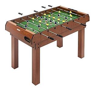 PL Ociotrends Devessport - Multijuego 3 en 1 - Futbolín, Billar, Ping-Pong, Fácil Montaje, Incluye nivelador, Barras metálicas, Mango de plástico, Dispone de marcadores - Medidas: 120 x 61 x 80 Cm
