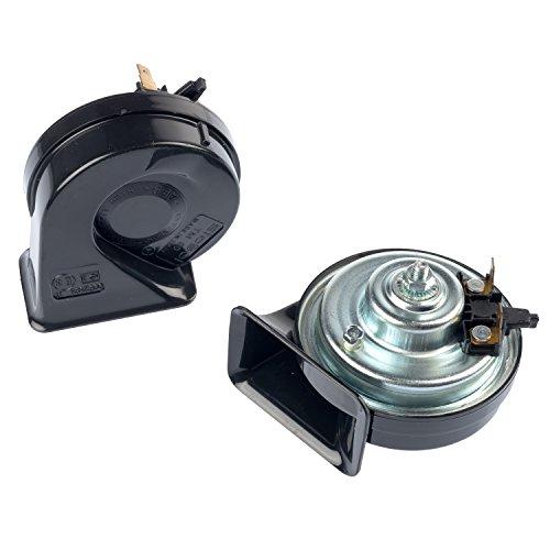 Preisvergleich Produktbild Stebel Hupe TM80 / 2 12V elektromagnetisches Doppelhorn