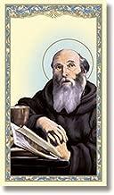 Religious Saint Benedict Holy Prayer Card (10 pack)