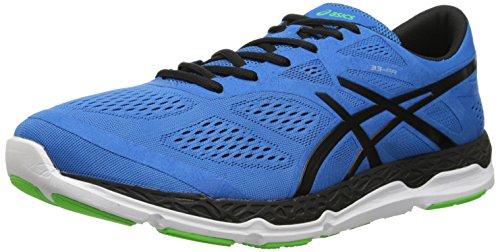 ASICS Men's 33-FA Running Shoe, Blue/Black/Flash Green, 8 M US