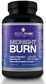 Body Fuse Midnight Burn Night Time Sleep Aid and Fat Burner Deeper Sleep with Non stimulating product image