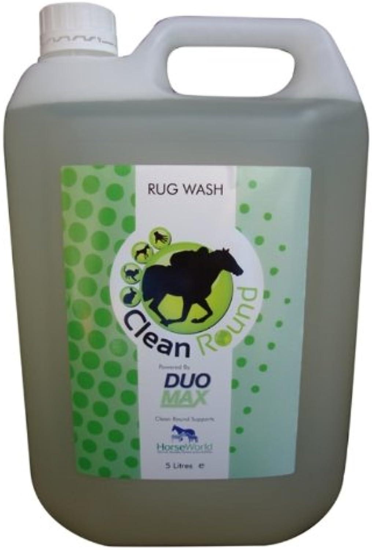 CleanRound  Fragranced Horse Rug Wash x Size  5 Lt