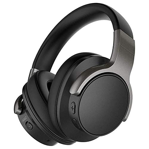 HTTJDY Wireless Headphone, Wireless Gaming Headset HiFi Active Noise Cancelling Bluetooth V5.0...
