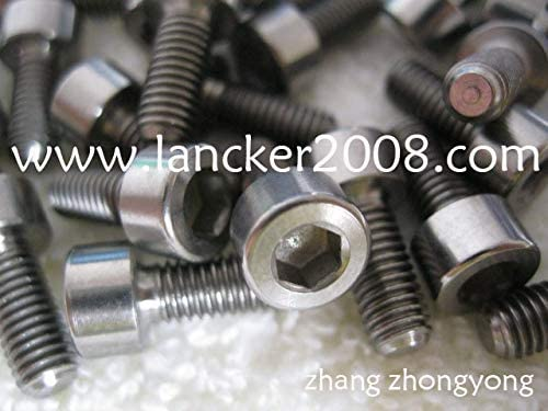 Ochoos M4x8 Gr5 Hexagon Socket Cap 5 ☆ very popular Screw Titanium Head Sale item DIN Alloy