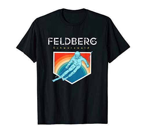 Feldberg Schwarzwald - Deutschland Retro 80s Skiferien T-Shirt