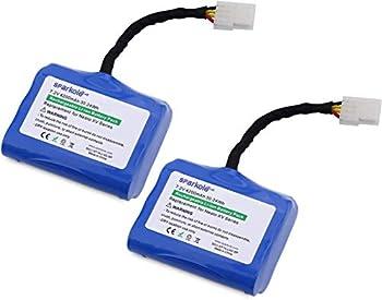 SPARKOLE 2 Pack 7.2V 4200mAh Lithium Battery Compatible with Neato XV Series XV-11 XV-12 XV-14 XV-15 XV-21 XV-25 XV Essential XV Signature XV Signature Pro 945-0005 205-0001 Replacement