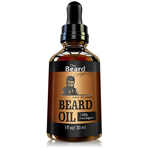 THE BEARD LEGACY Beard Oil Conditioner - All Natural...