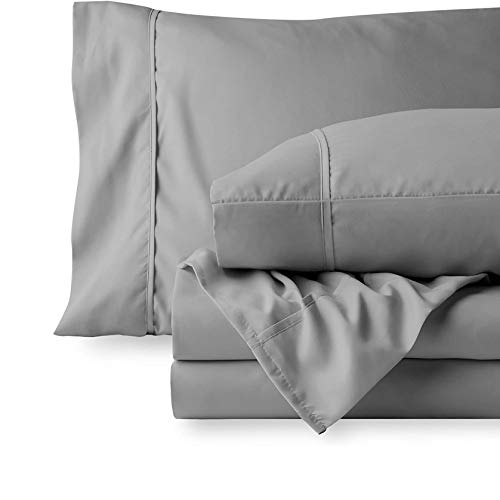 600 Thread Count 100% Cotton Sheet Set for King Size Bed - 100% Cotton Sheets King Size Deep Pocket 100% Cotton Bed Sheets 100% Cotton Bedsheet Set King Size