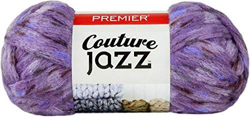 PREMIER YARNS Yarn Couture Jazz, Lavanda Multi, Talla Única