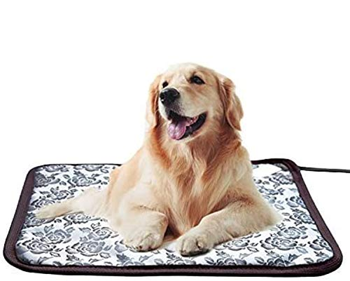 Pet Heating Pad Cat Heating Mat Waterproof Pets Heated Bed Adjustable Dog Bed Warmer Electric Heating Mat