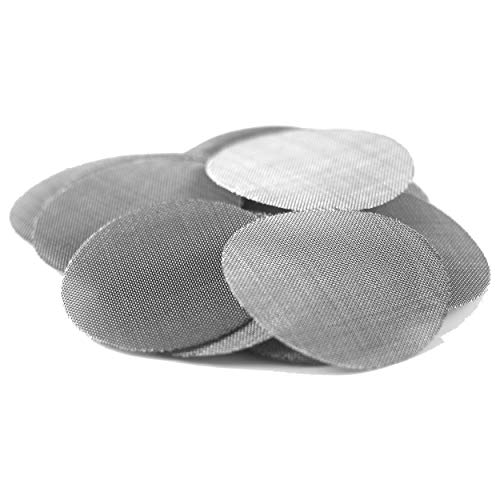 Made in The USA - 50 1/2' (.500') 304 Stainless Steel Premium Pipe Screen Filters