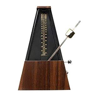 CUHAWUDBA Mechanische Metronom Holz Farbe Musik Timer für Klavier Gitarre Violine Guzheng Musik Instrument Lehre Metronom