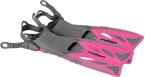 Miton Kinder Junior Flossen Schwimmflossen Flipper pink 32-37