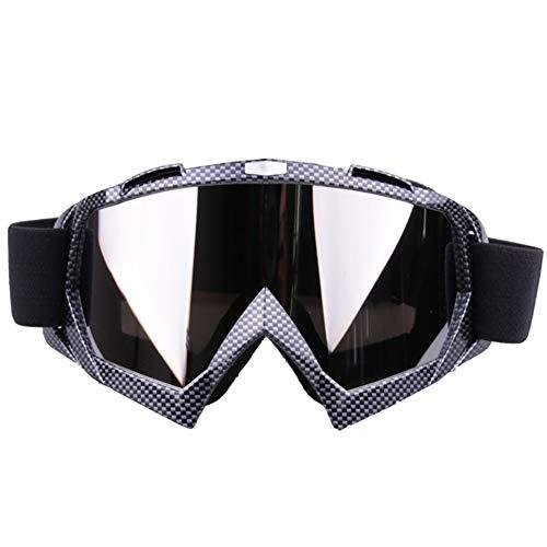 fuchsiaan Motor Ciclismo Deportes De Invierno Bicicleta Motocross Ski Goggles, Cubierta Antipolvo...