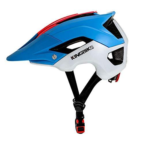 Youngsown KINGBIKE All'aperto Sport Casco Professionale Bicicletta Casco Equitazione Ciclismo Sciare Casco di Sicurezza Sportivo MTB Casco da Montagna Fuoristrada J-654