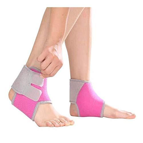 JJZXPJ Ankle Support Brace,Foot Drop Ondersteuning Orthose Ademende Verstelbare Enkelband Open Hiel Splint Voor Artritis Pijn Relief Guard Voet Splint Sprain Injury Wraps Enkelbeugel