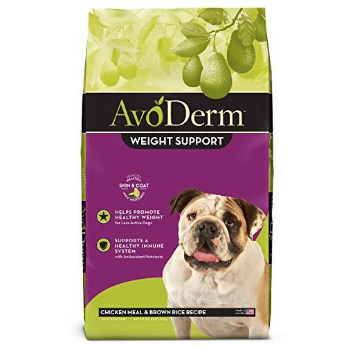 AvoDerm Natural Weight Management Dry Dog Food,...