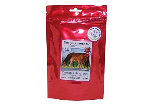 Westgate Laboratories Worm Count Kit Twee Paarden - Helder, Twee Paarden