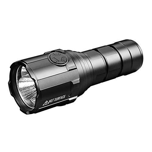 Gulu Linterna LED De Potencia R30C 9000 Lumenses Tipo-C USB Linterna Recargable por 21700 Batería para La Caza, Búsqueda Y Rescate