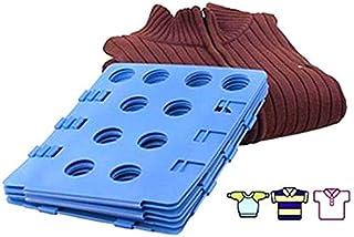 Nifogo Planche à Plier Le Linge - Pli Linge Planche à Plier vêtements plieur de Linge 68 x57 cm Chemise Planche à Plier (B...