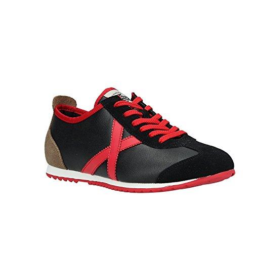Zapatillas Hombre Munich Osaka 339 Negro/Rojo
