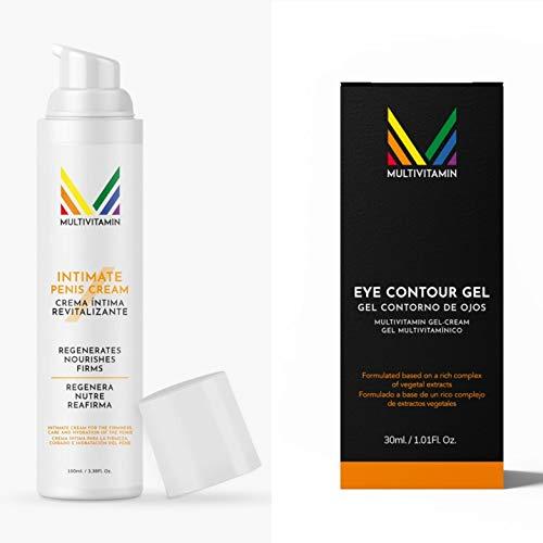 Pack de Crema Íntima Masculina 100 ml. y Contorno de Ojos 30 ml.