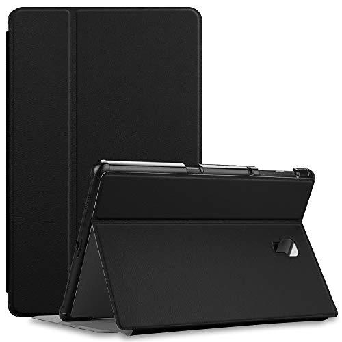 Fintie Folio Funda para Samsung Galaxy Tab A 10.5 2018 - [Múltiples Ángulos] Carcasa Delgada de Cuero Sintético con Función de Soporte y Auto- Reposo/Activación para Modelo SM-T590/T595, Negro