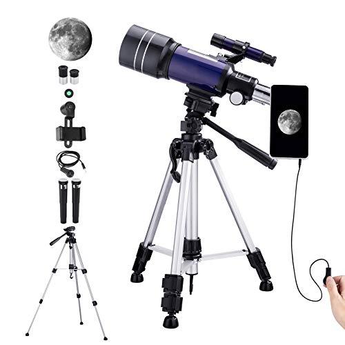 Telescopio Astronómico para Niños Adultos Principiantes,...