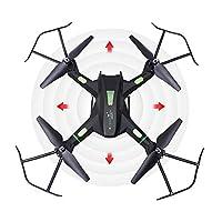 SSBH 大規模な降圧空中写真ドローン、高精細四脚部、リアルタイム画像伝送、成人プロフェッショナルRC航空機、ヘッドレスモード、簡単な操作 (Color : 黒)