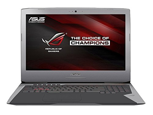 ASUS ROG G752VL-DH71 17 Inch Gaming Laptop, Nvidia GeForce GTX 965M 2 GB VRAM, 16 GB DDR4, 1 TB HDD