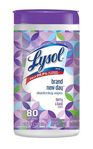 Lysol Disinfecting Wipes 80 Count – IN STOCK ON AMAZON!