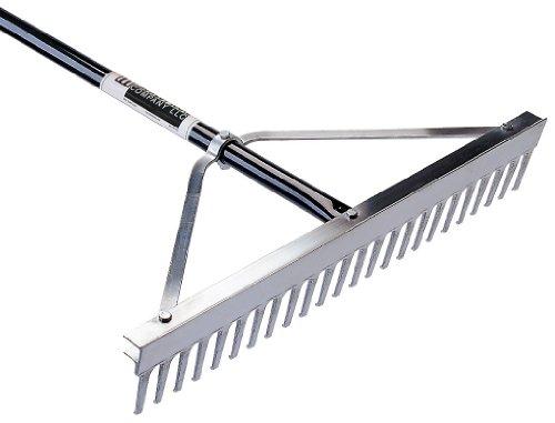 Seymour MIDWEST RAKE Landscape Rake, 48 Tine, 24 in Blade Size