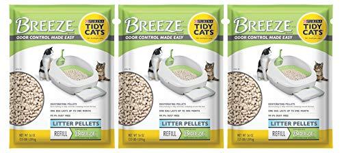 Tidy Cats Purina Breeze Cat Litter Pellets Refill Multiple Cats