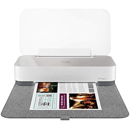 HP Tango X Imprimante Multifonction Intelligente Jet d'encre Couleur (11 ppm, 4800 x 1200 ppp, HP Smart, USB, WiFi, couverture) Instant Ink