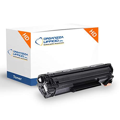 Organizza Ufficio Toner Compatibile con Hp CF244A-X, Hp LaserJet Pro M15a-w, M16w, M17a-w, MFP M28a, MFP M28w, M29, M30. Stampa fino a 1.000 pagine al 5% di copertura.