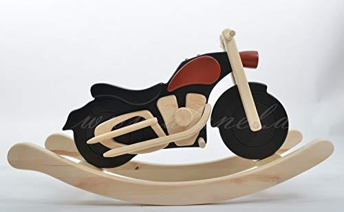 cavallo a dondolo a dondolo moto Harley rocking horse from ALANEL