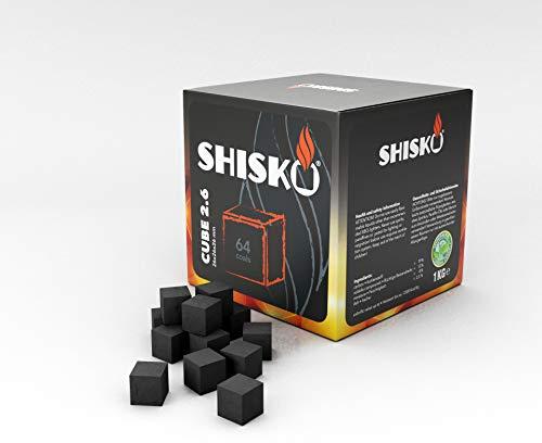 Shisko Premium Natur Kokosnusskohle Ohne...