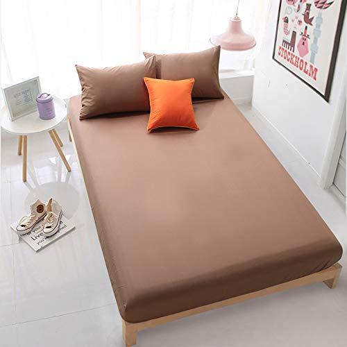 BOLO Las sábanas tienen bolsillos profundos, cómodos y resistentes a las arrugas, 150 x 200 cm+30 cm