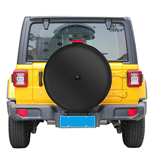Moonet 32' Tire Cover with Camera Hood for Wrangler JL (with Back-up Camera),2018-2020 Sport & Sahara,245/75R17,255/75R17,255/70R18