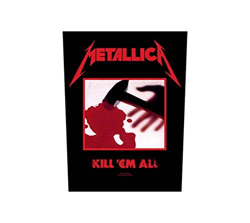 Unbekannt Metallica Rückenaufnäher - Kill Em All - Metallica Backpatch
