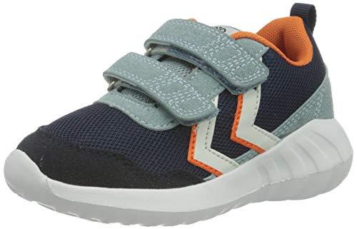 hummel Unisex-Kinder Cloud JR Sneaker, Black IRIS,29 EU