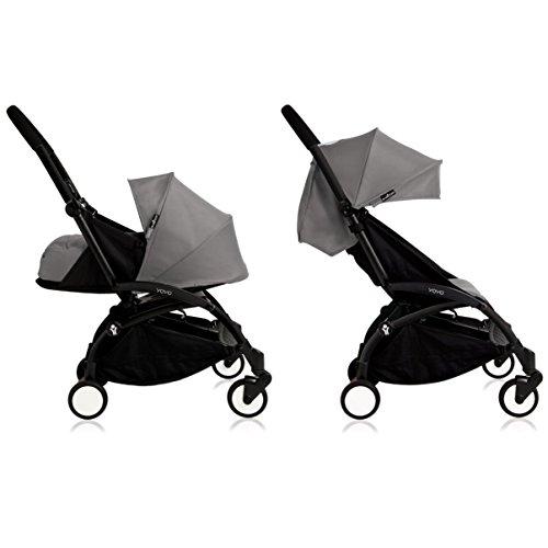 Babyzen YoYo+ Stroller Bundle (Yoyo+ Stroller, Canopy & Newborn Pack) (Grey)
