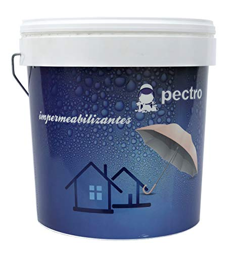 Pintura impermeabilizante PECTRO 20 KG - Pintura antihumedad para terrazas y cubiertas (Verde)