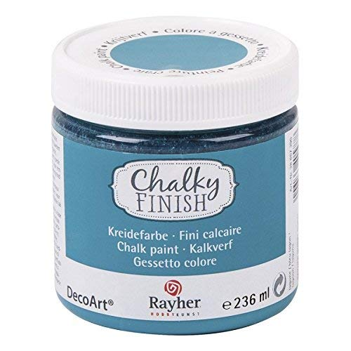 Rayher Colore in gesso Chalky Finish, 236 ml Laguna