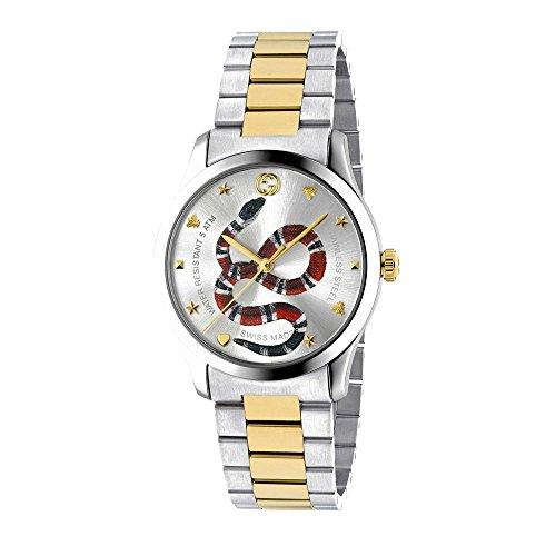 Gucci YA1264075 Stahl 316 L Frau Uhr