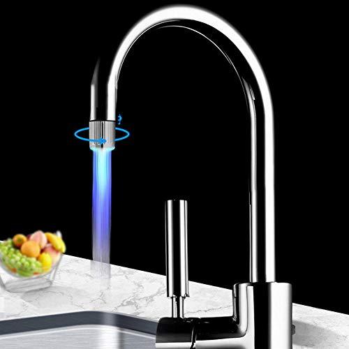 Baño y cocina suministros simples filtro de grifo de ducha de luz LED colorido creativo 1,RBXVFV0BCZBE8