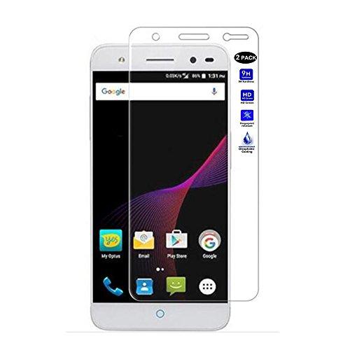 "XMT ZTE Blade V7 Lite5.0"" Protector de Pantalla,0.3mm Dureza de Grado 9H Protector de Pantalla de Vidrio Templado Cristal Protector para ZTE Blade V7 LiteSmartphone (2 Pack)"